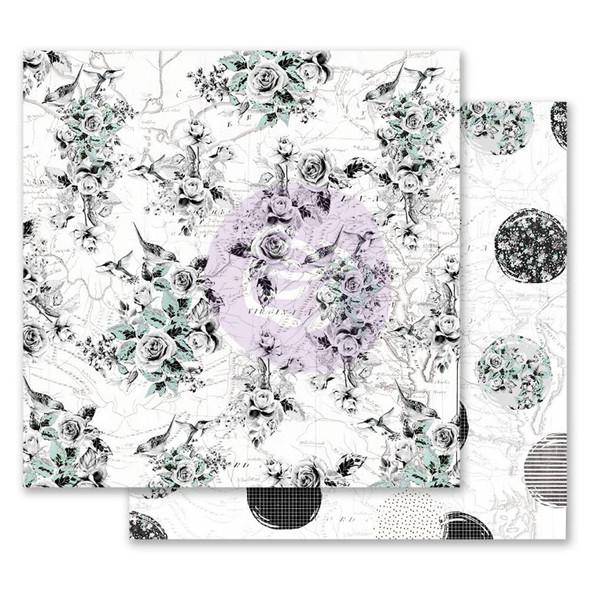 """FLIRTY FLEUR 12"""" Foiled Paper Pad"""
