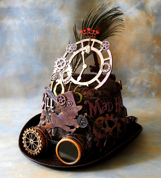 Alice in Steampunk Land