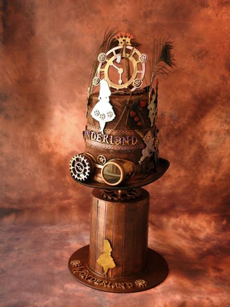 Alice in Steampunkland - Wonderland Hat