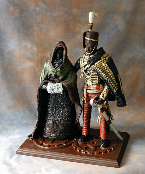 'Victorian Hussar & His Lady'