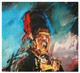 Hussar !! - Limited Edition Medium Signed Print by Nina Greenwood