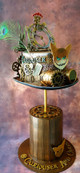 Alice in Steampunkland - 'Curiouser and Curiouser' Hat
