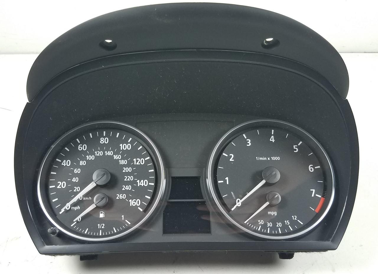 Bmw E90 3 Series Sedan Dash Speedometer Gauge Cluster