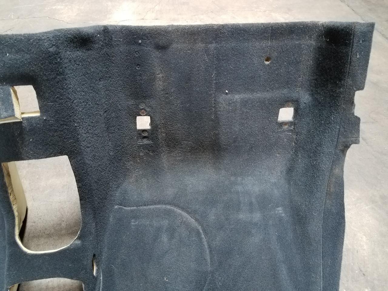96-99 BMW E36/7 Z3 ROADSTER REAR BLACK CARPET 8397941