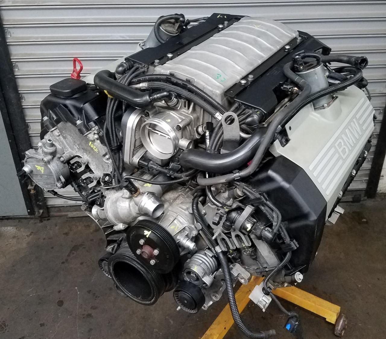 BMW N62 4.4 Engine Long Block Motor E53 E60 E65 X5 545 745 ...