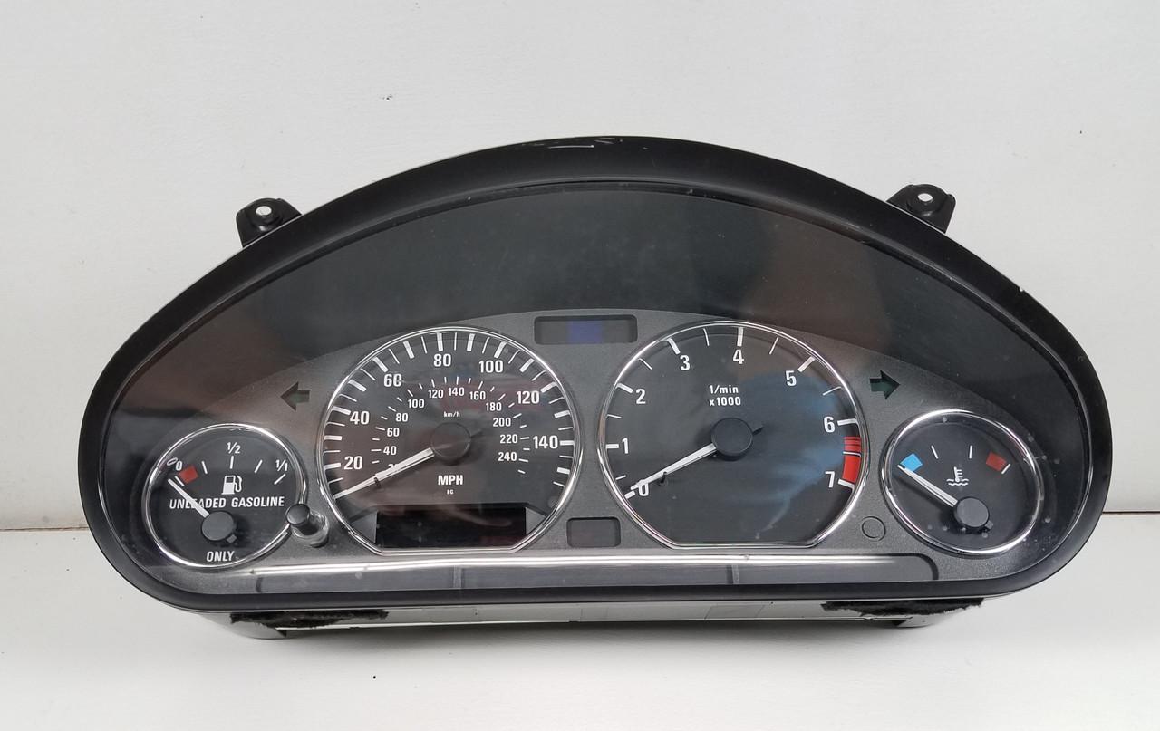 00 BMW Z3 2.5 AUTOMATIC INSTRUMENT CLUSTER SPEEDOMETER 6901498