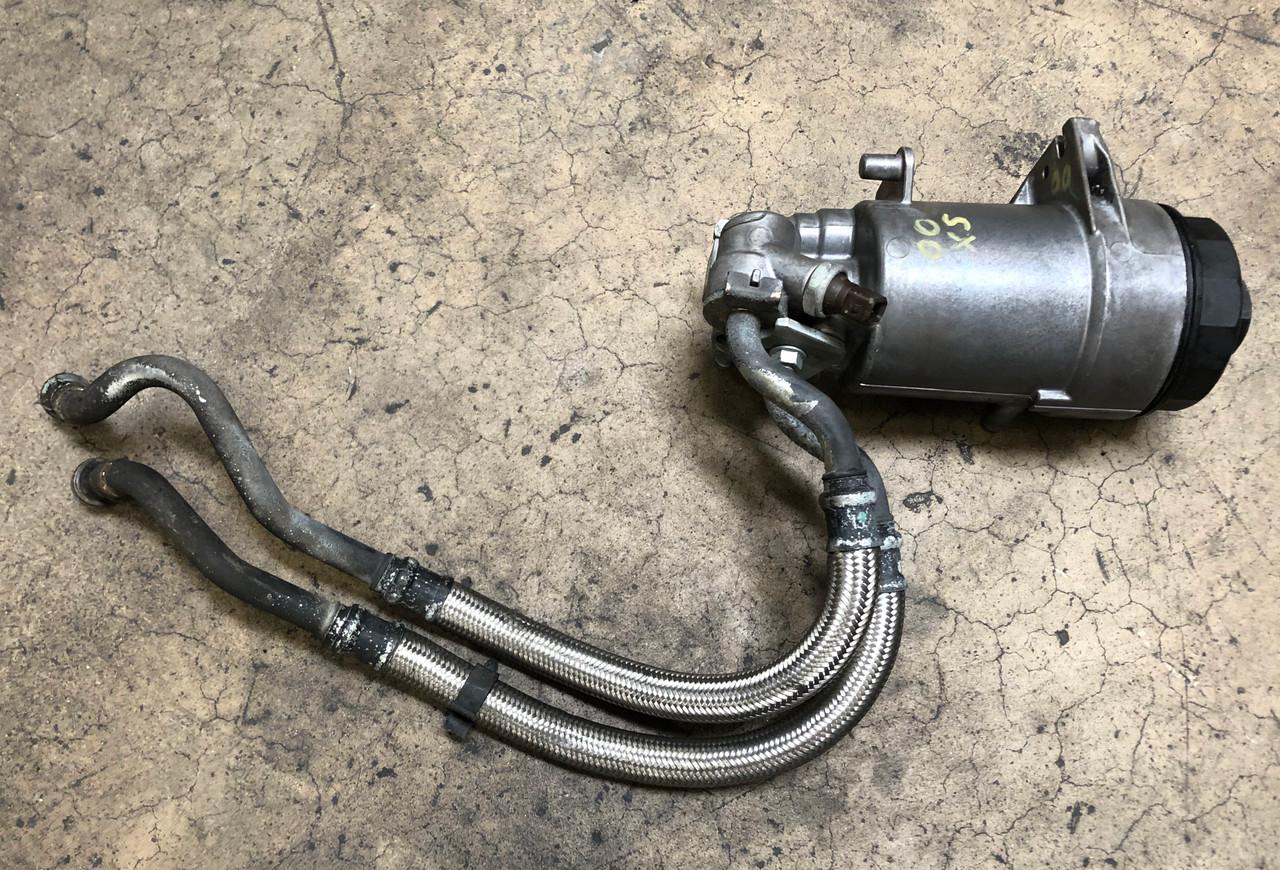 BMW M62TU ENGINE 4.4 OIL FILTER HOUSING X5 4.4 540 740 1437582