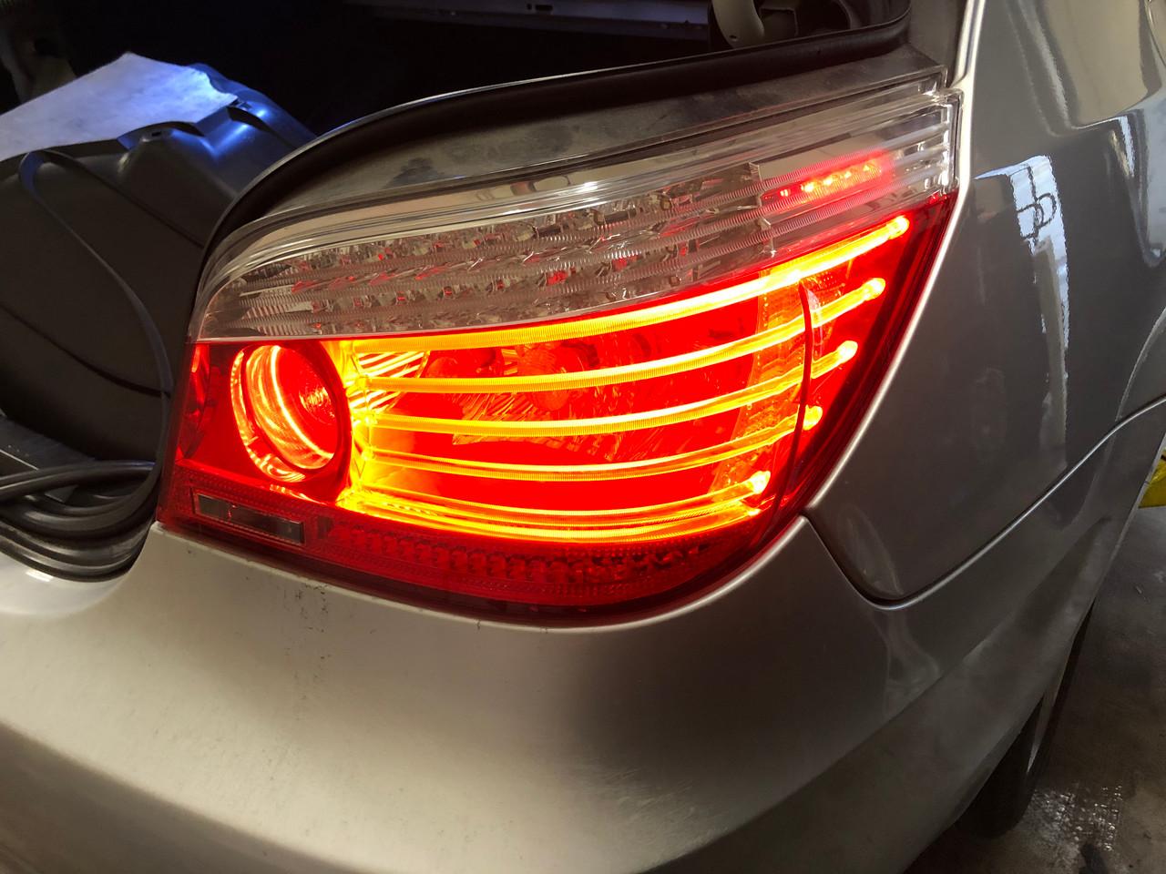 08 09 BMW E60 535i 550i PASSENGER LCI REAR BRAKE LAMP LIGHT OEM 7361594