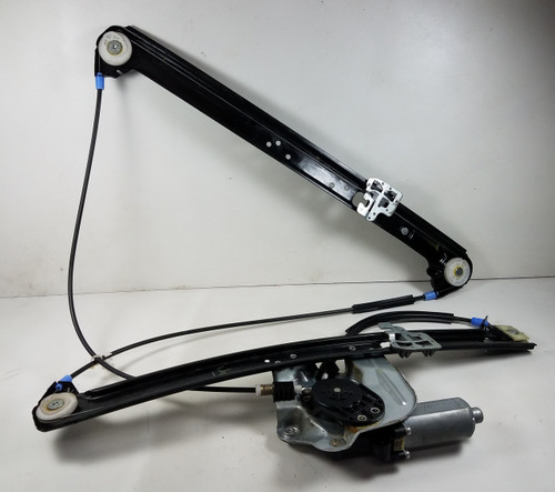 01-06 BMW E53 X5 DRIVER FRONT WINDOW LIFTER REGULATOR 8254911