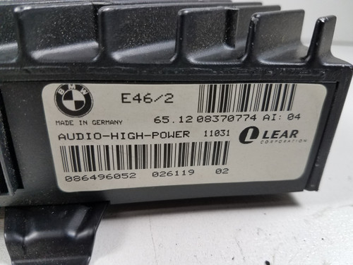 BMW E46 330 328 325 COUPE AUDIO HIGH POWER STEREO AMPLIFIER 8370774