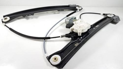 BMW E60 E61 DRIVER LEFT FRONT WINDOW LIFTER REGULATOR 7184383