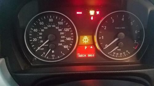 BMW E90 E92 330i 328i SPEEDOMETER GAUGE CLUSTER 188k  9110213