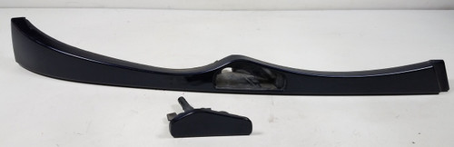 02 BMW E46 330i 325i Passenger Front  Lower Headlight Trim 7030552