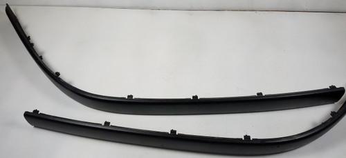 97-00 BMW E39 540i 528i Front Bumper Impact Molding Strips 8159351