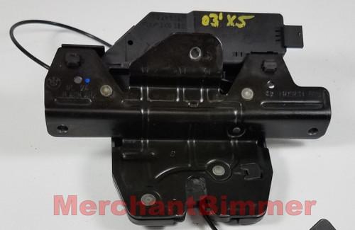 00-03 BMW E53 X5 TAILGATE TRUNK LOCK ACTUATOR 8408492