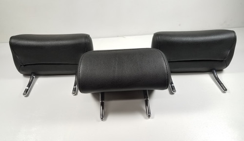 BMW E46 330i 325i REAR HEAD REST BLACK LEATHER