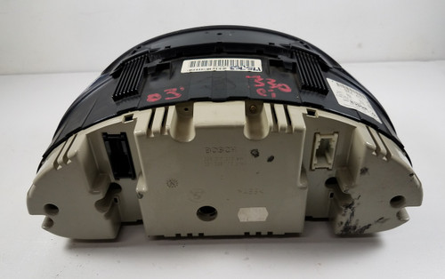 03 BMW E46 330ci 2dr Coupe Dash Cluster Speedometer 175k 4117726