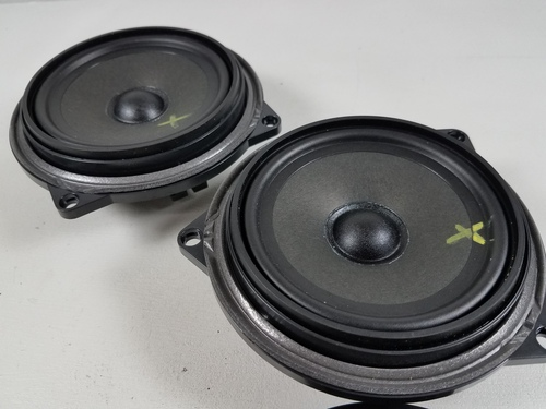 BMW E92 335i 330i PAIR REAR MID RANGE SPEAKERS 9143231