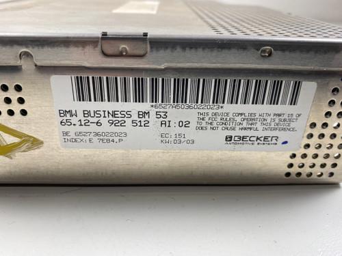 BMW BM53 RADIO TUNER RECEIVER E39 E46 E53 E38 6922512