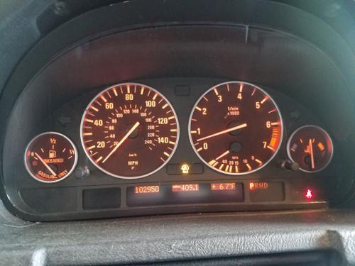 04 05 06 BMW X5 Dash Cluster Speedometer 103k 6979581
