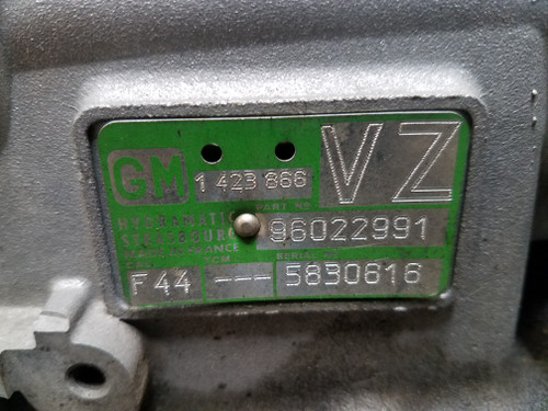 99 00 BMW Z3 2.5 GM AUTOMATIC TRANSMISSION 1423867