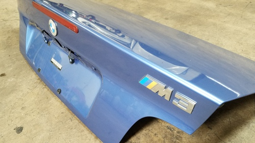 96-99 BMW E36 M3 328 325 Convertible Trunk Deck Lid