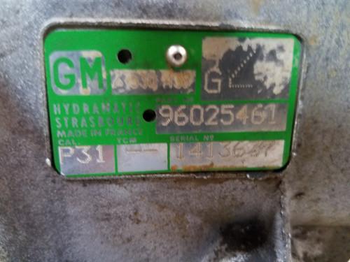 05 BMW E46 330 GM AUTOMATIC TRANSMISSION W/ TORQUE CONVERTER 96025461