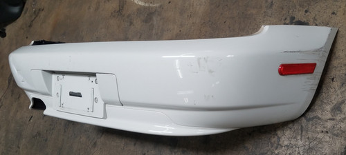 99 - 01 BMW Z3 ROADSTER REAR BUMPER COVER WHITE 0307541