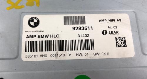 BMW F30 328i SEDAN LEAR HIFI RADIO AUDIO AMPLIFIER 9283511