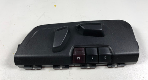 2013 BMW F30 F31 328i 320i DRIVER FRONT SEAT SWITCH MEMORY 9276619