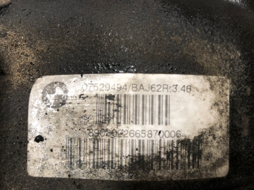 BMW E39 530i 525i FINAL DRIVER REAR DIFFERENTIAL 3.46 GEAR 07529494