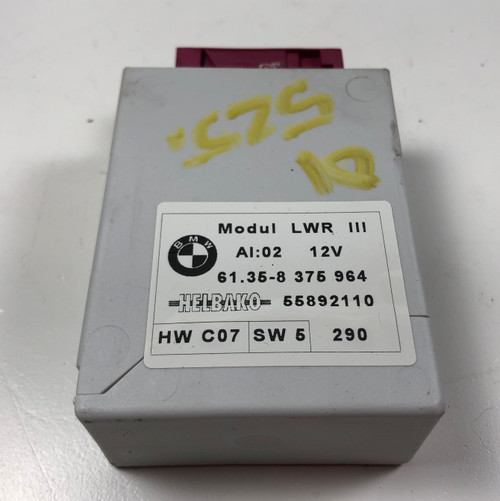 01 BMW E39 540i 530i 525i HEADLIGHT AIM CONTROL MODULE 8375964