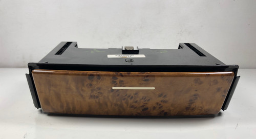 00 BMW E53 X5 CENTER CONSOLE CUP HOLDERS W/ WOOD TRIM 8253125