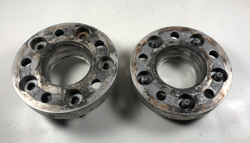 BMW E39 540 530 528 525 H&R Silver 25mm Wheel Spacers 5075740