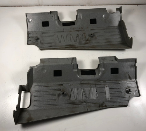 06 BMW E53 X5 ENGINE IGNITION COIL BEAUTY TOP COVERS/PAIR  7523074