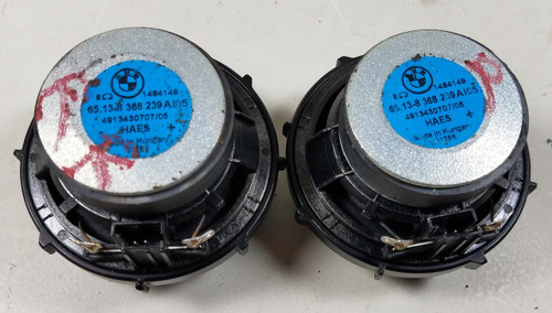 BMW E46 323ci 325i  Mid HiFI Speakers/pair  8368239