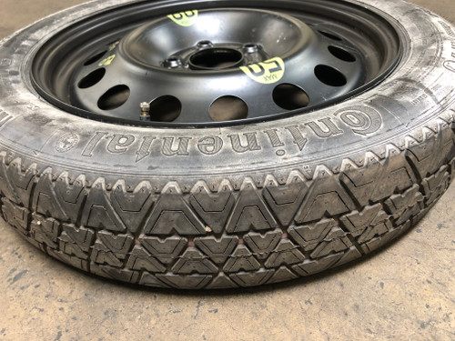 BMW e60 e61 5-SERIES SPARE TIRE RIM DONUT WHEEL 135/80/17