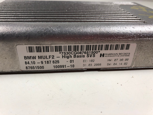 08 BMW 535i 528i TELEMATIC BLUETOOTH CONTROL MODULE 9181276