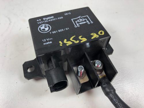 08 BMW ELECTRIC COOLING FAN RELAY MODULE E60 E61 E70 E90 E92 F10
