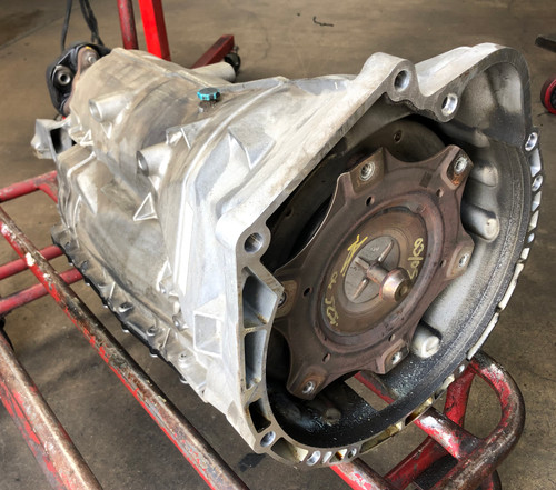 06 BMW E60 525i AUTOMATIC TRANSMISSION 6HP-19 ZF 7547901