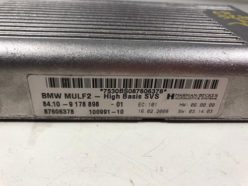 08 09 BMW E60 E90  AUDIO INTERFACE BLUETOOTH MULF2 MODULE 9178898