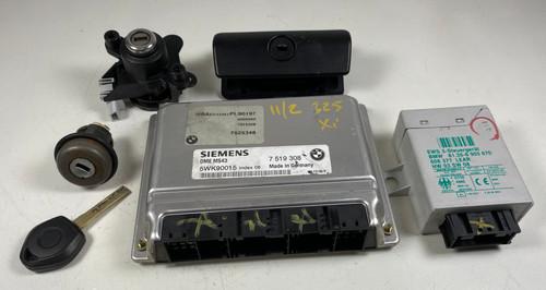 2002 BMW 325i Engine Computer Module 7519308