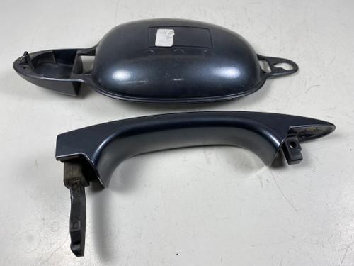BMW E60 e61 PASSENGER EXTERIOR DOOR HANDLE PLATINGRAU 6961444