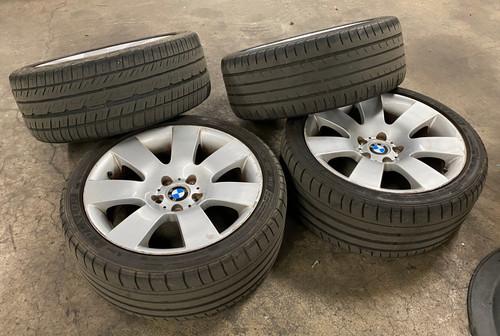 BMW E60 E61 8 X 18 ALLOY MULTI SPOKE WHEELS RIMS 6760616