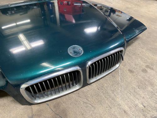 BMW E38 740 750 Hood Assembly Oxfordgruen 8183124