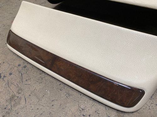 BMW E38 750iL 740iL FRONT COMFORT SEAT LOWER REAR PANEL 8161543
