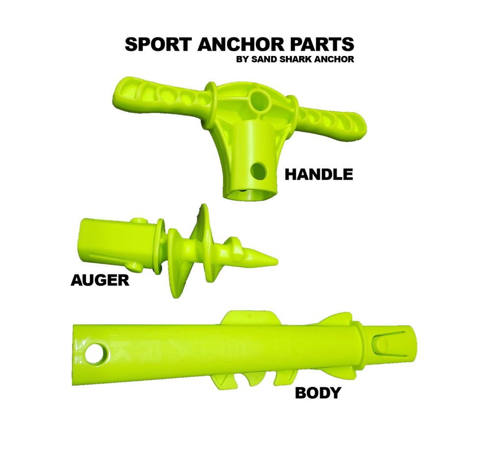 Extra Sport Anchor Parts: Auger Piece