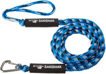 SandShark Anchor Bungee Dock Line. Absorbs Shock to Anchors and Docks Stretches from 7'-14'. Designed for use with SandShark Anchors. (Blue or Black)
