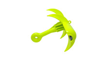 Scratch & Dent Special :: JAWS Anchor by SandShark, Grapnel Type Folding Anchor Kit, Bungee Rope-Line System Stretches 25-28 ft, Rip-Stop Padded Case for Easy Storage, No Boat Damage. Jetski, Canoe, PWC, Kayak, Paddleboard, Inflatable, Small Boat.
