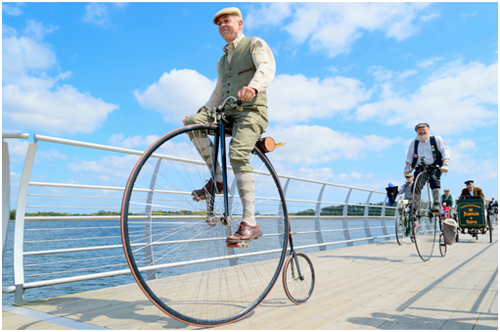 Get In Touch With History - Ride A Modern-Day Penny Farthing Bike